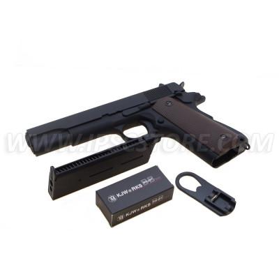 Пистолет айрсофт KJ Works M1911A1 (Full Metal)