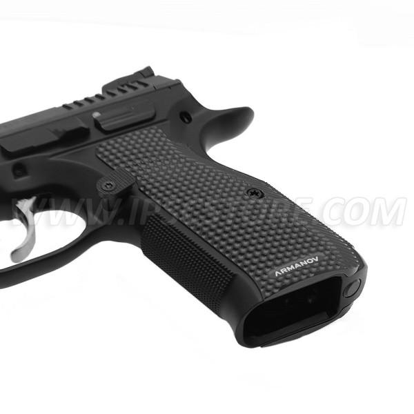 Armanov PGCZG2SS-BL SpidErgo Gen2 Pistol Grips for CZ Shadow 2, SP-01 and 75 series