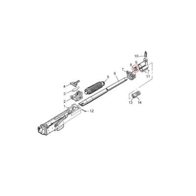 Molot Vepr 12ga VPO-205 Gas Piston 1-20
