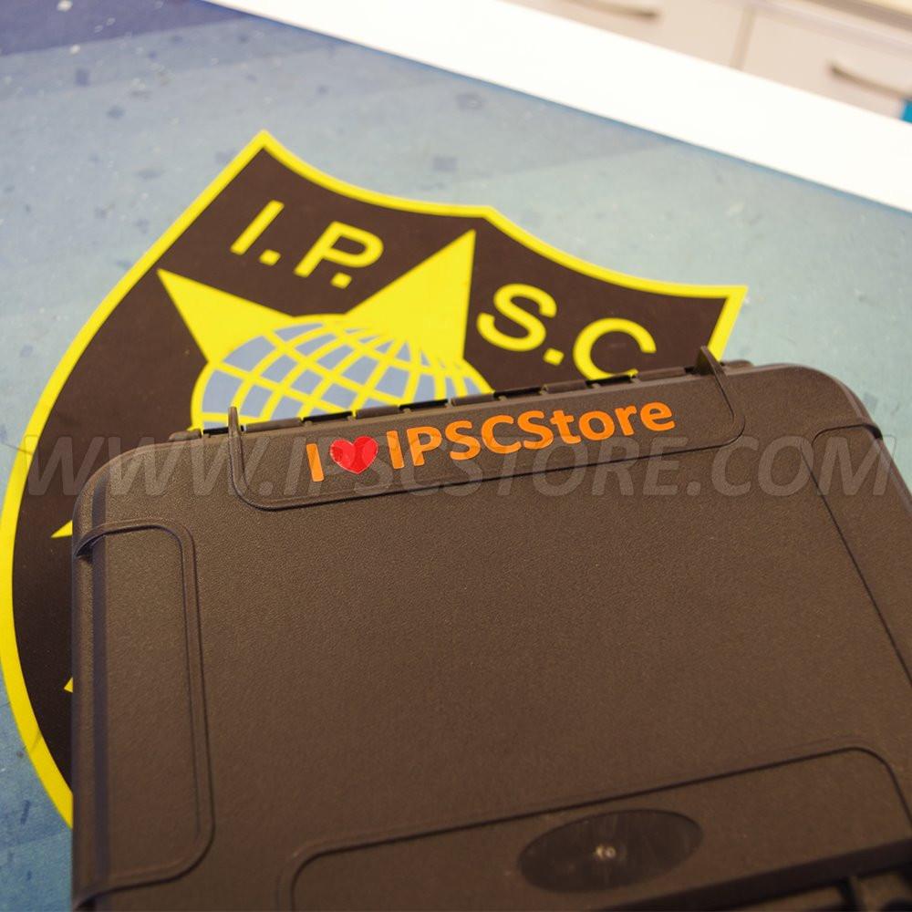 Наклейка I love IPSCStore