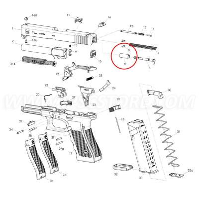 GLOCK Firing Pin Channel Liner