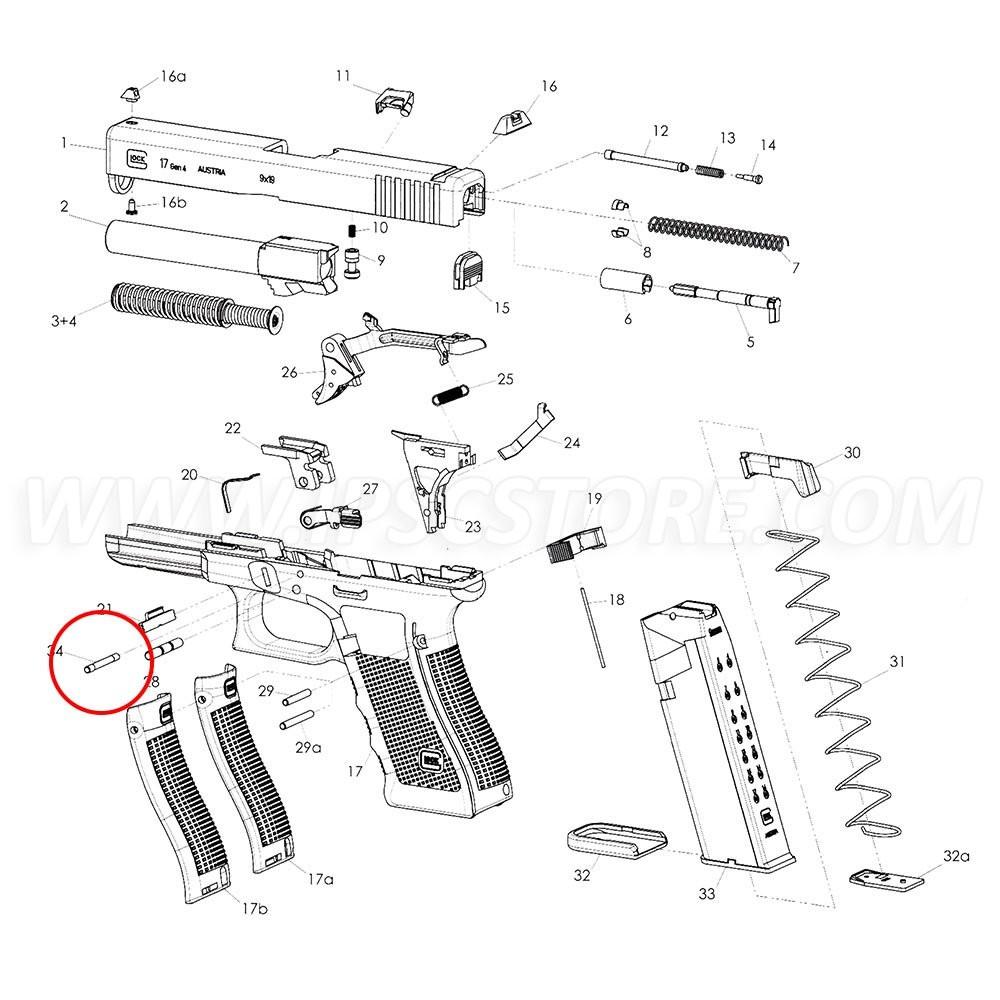 GLOCK Locking Block Pin