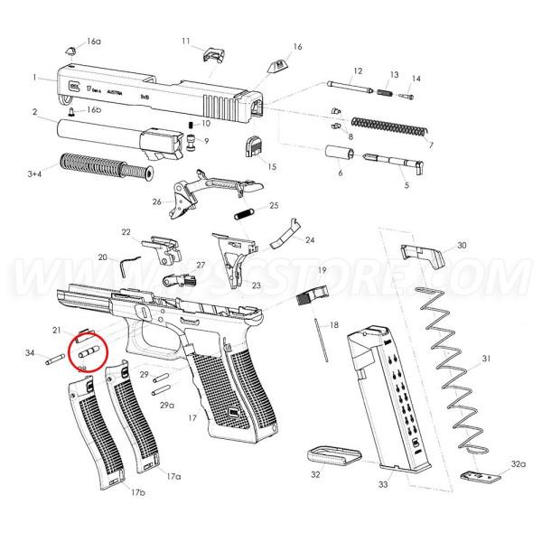GLOCK Trigger pin