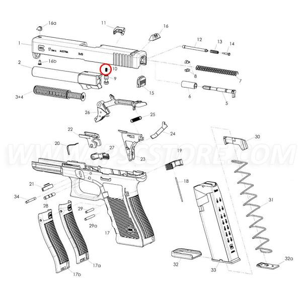 GLOCK Firing Pin Safety Spring