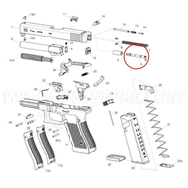 GLOCK Firing pin