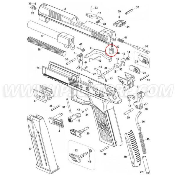 Блок ударника для CZ P-07