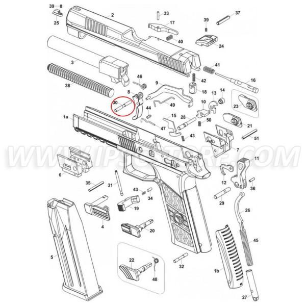 CZ P-07 Trigger Pin