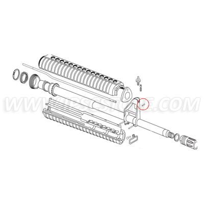 Eemann Tech Gas Tube Roll Pin for AR-15