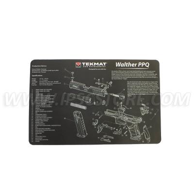Tekmat Walther PPQ Gun Cleaning Mat