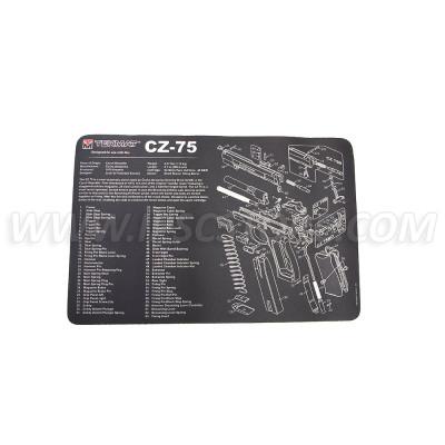 Tekmat CZ-75 Gun Cleaning Mat