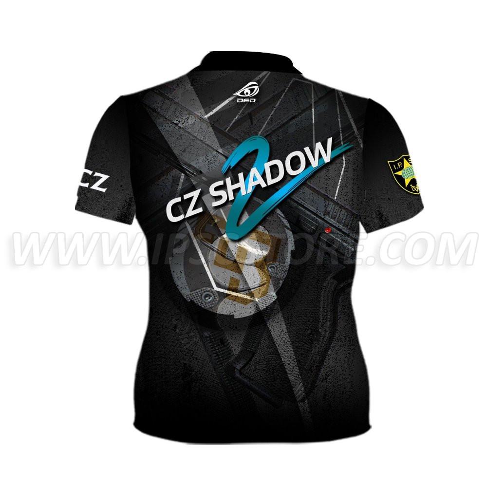 DED Women's CZ Shadow 2 Black T-Shirt