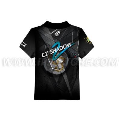 DED Children's CZ Shadow 2 Black T-Shirt
