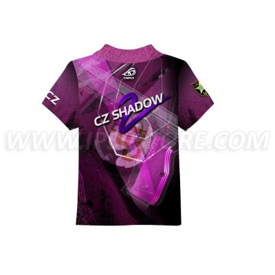DED Children's CZ Shadow 2 Purple T-Shirt
