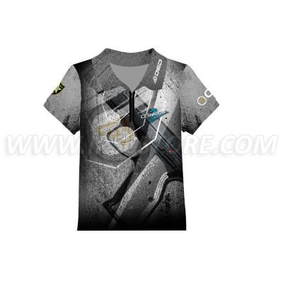DED Children's CZ Shadow 2 Gray T-Shirt
