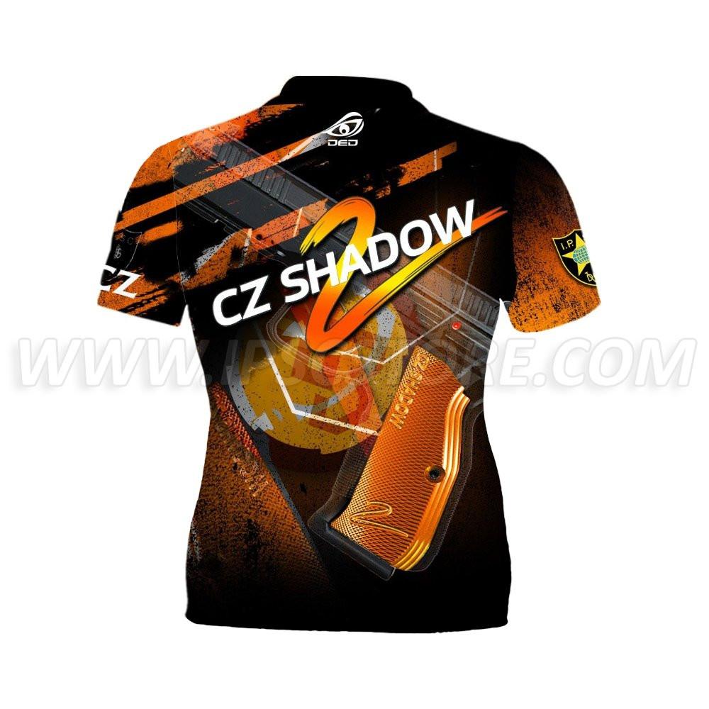 DED Women's CZ Shadow 2 Orange T-shirt