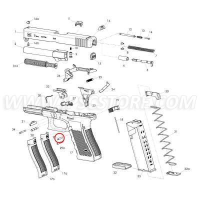 Eemann Tech Trigger Housing Pin for GLOCK