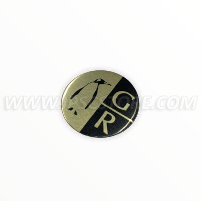 Логотип-наклейка для кобуры Guga Ribas