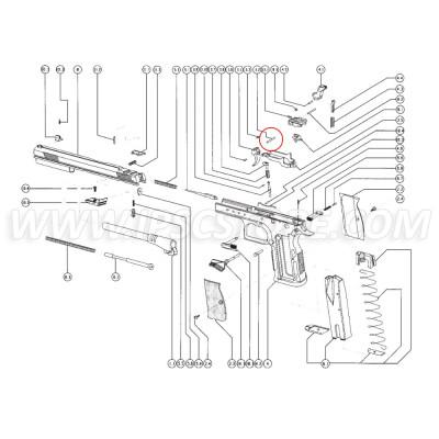 Tanfoglio Trigger Pin