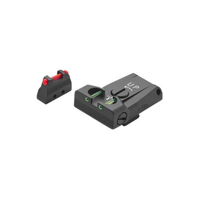 LPA TTF98BE Sight Set for Beretta 92, 96, 98, M9A1 with Fiber Optic