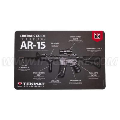 """Tekmat AR-15 """"Liberal's Guide"""" Gun Cleaning Mat"""