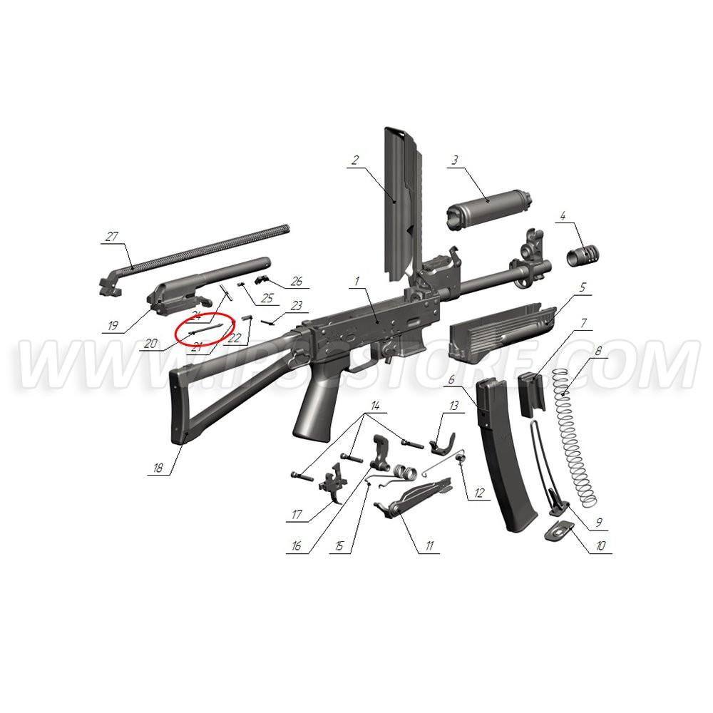 Custom Guns 01698 Firing Pin for Saiga-9