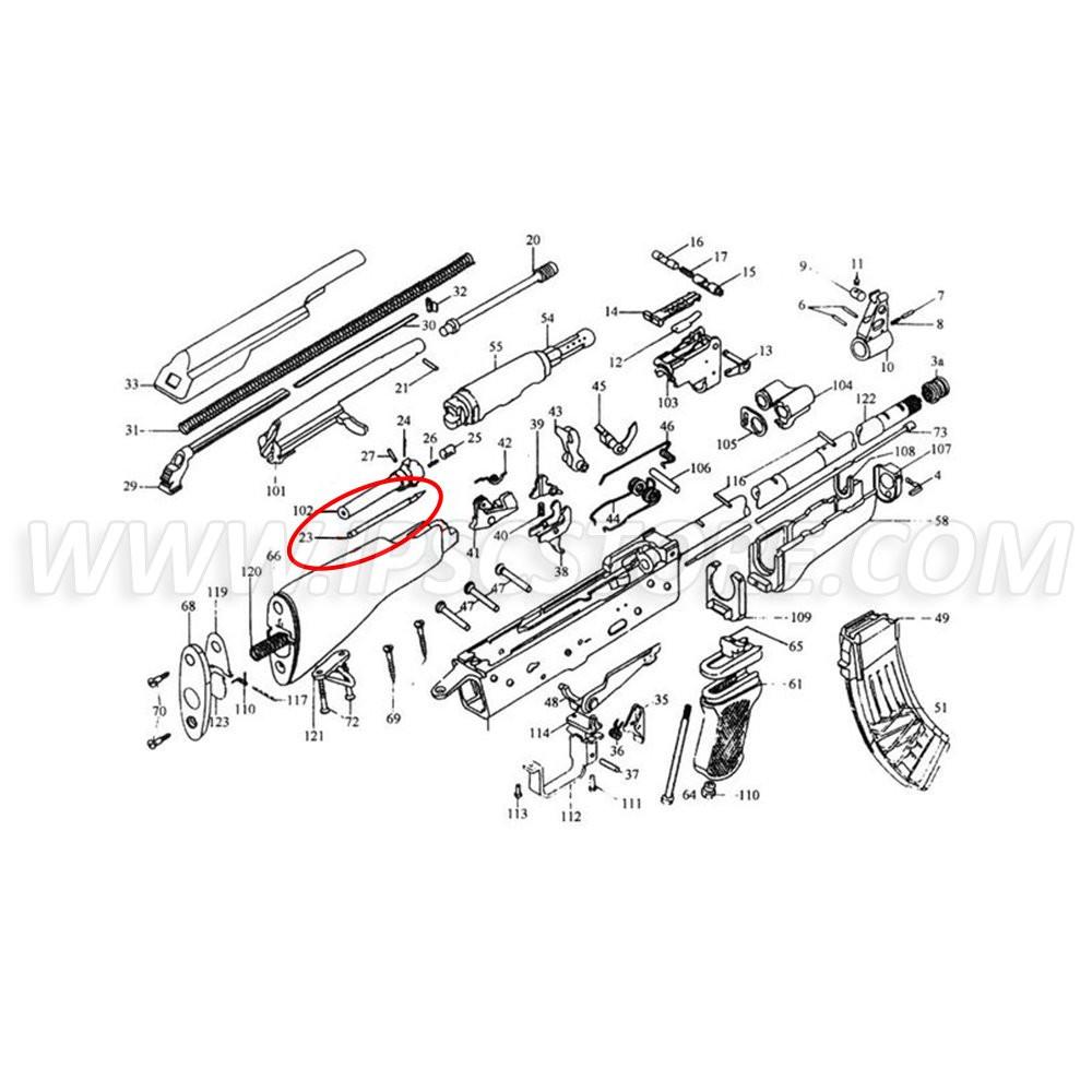 Custom Guns 00986 Firing Pin for AKM