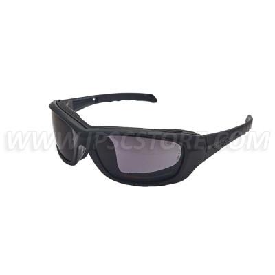 Wiley X CCGRA08 GRAVITY Captivate Smoke Grey Matte Black Frame