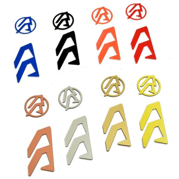 DAA Alpha-X Logo Color Inlays
