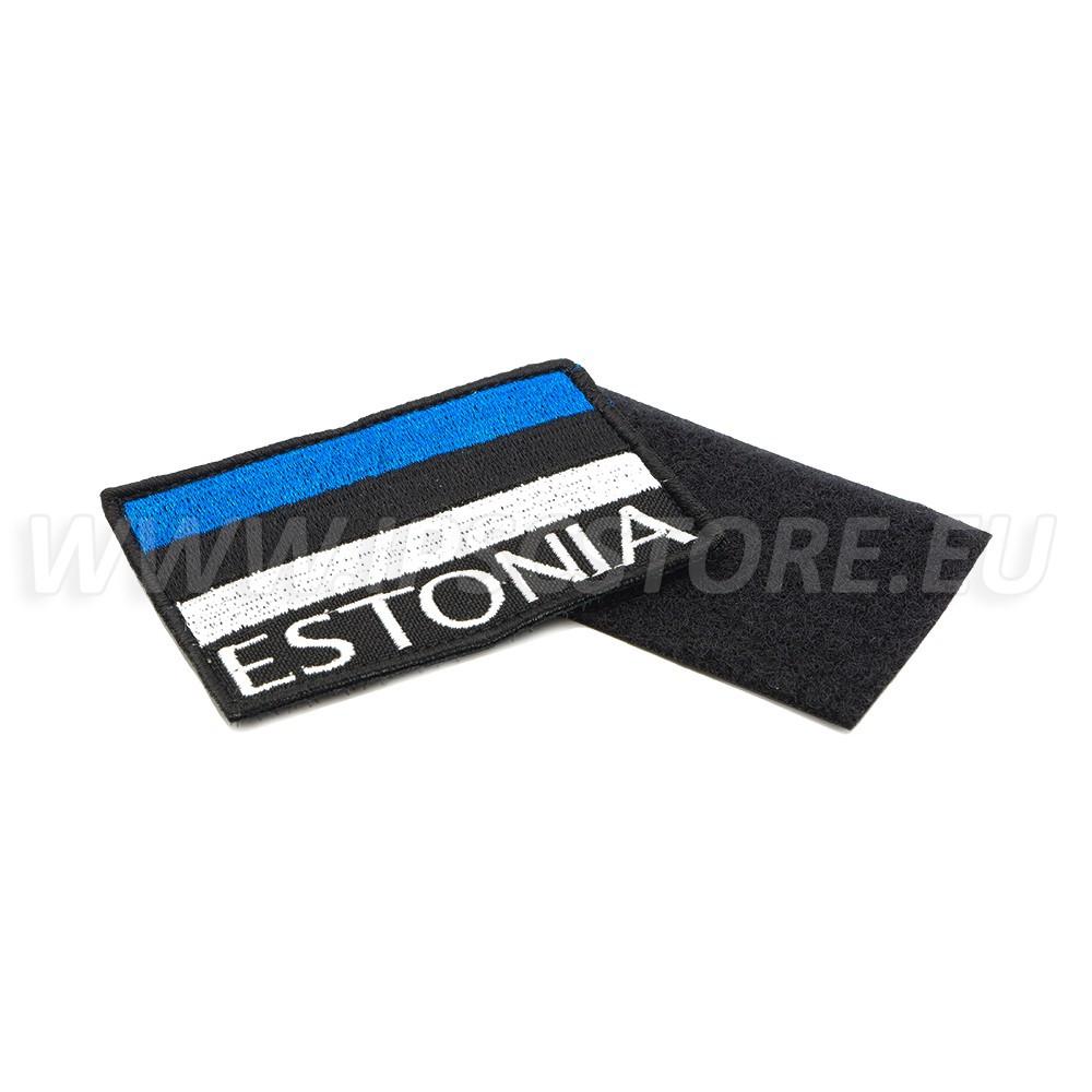 Велкро Нашивка Флаг Эстонии, Контактная лента