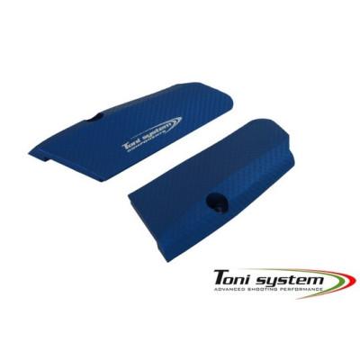 TONI SYSTEM Накладки X3D для Tanfoglio HC, Короткие